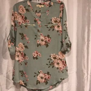Ladies floral blouse